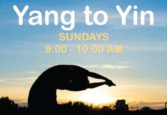 Yang to Yin